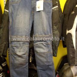 Spyke Jeans mod. Aramid Denim Stretch Blue cod. SE120714 con protezioni in Kevlar